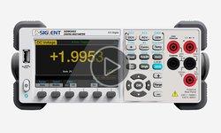 Відеоогляд прецизійного цифрового мультиметра SIGLENT SDM3055
