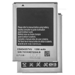 Battery EB454357VU compatible with Samsung S5360 Galaxy Y, (Li-ion, 3.7 V, 1200 mAh)