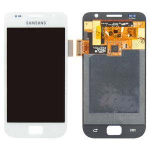LCD for Samsung I9000 Galaxy S, I9001 Galaxy S Plus Cell Phones, (white, with touchscreen, original (change glass) )