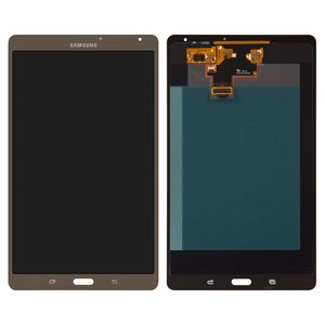 LCD for Samsung T700 Galaxy Tab S 8.4 Tablet, ((version Wi-Fi), bronze, with touchscreen)