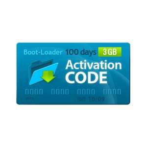 Boot-Loader v2.0 Código de activación (100 días, 3 GB)