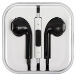 Auricular puede usarse con celulares Apple; tablet PC Apple; reproductores MP3 Apple, negra, TRRS 3.5 mm