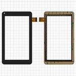 "Сенсорный экран China-Tablet PC 7""; Assistant AP-714 Fan, AP-722, 7"", 106 мм, 186 мм, 30 pin, емкостный, черный, #SCF0112-A/DH-0720A1-FPC23-02"