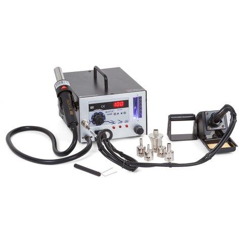 Термоповітряна паяльна станція AOYUE 968 з паяльником і димопоглиначем