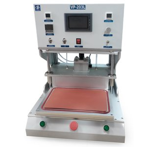 Пристрій для склеювання дисплейного модуля VP-203L для планшетів з вакуумним насосом та компресором