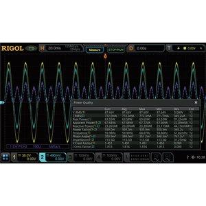 """Програмне розширення """"аналіз потужності"""" RIGOL DS7000-PWR"""