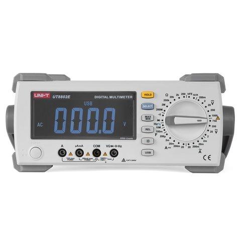 Настільний цифровий мультиметр UNI T UT8802E