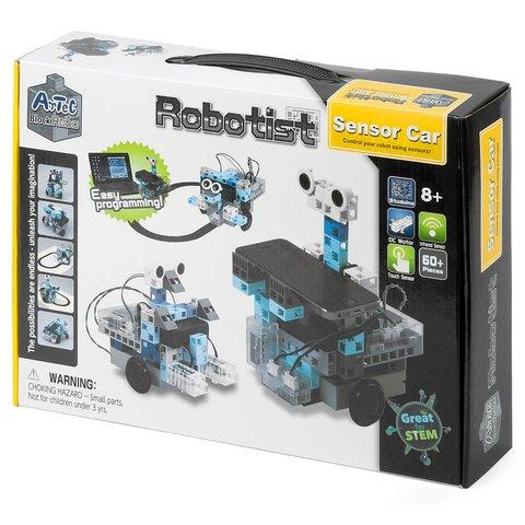 STEM-конструктор ArTeC Robotist Сенсорна машинка