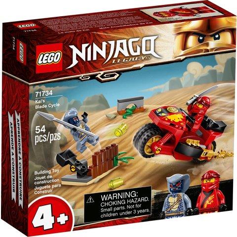 Конструктор LEGO NINJAGO Мотоцикл с мечами Кая 71734